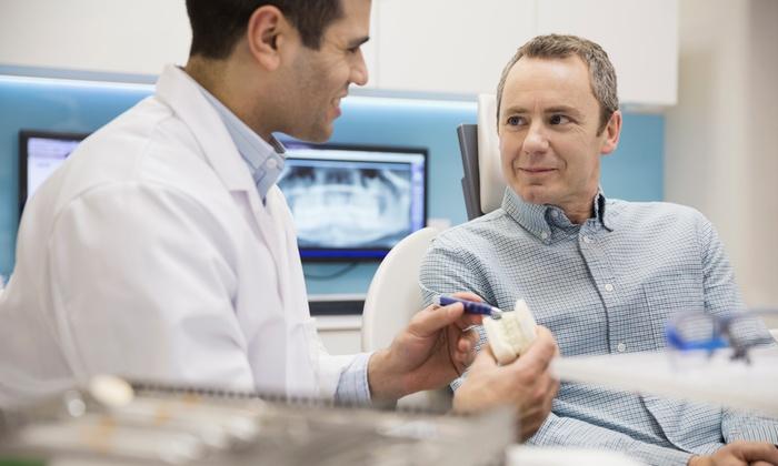 Impianto dentale monofasico